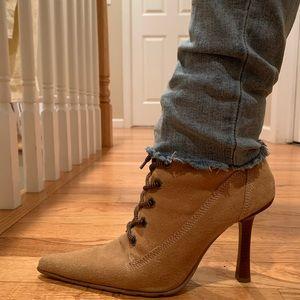 ALDO stiletto style suede fashion work boot